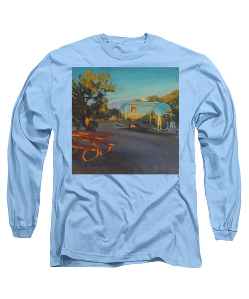 Sunrise In Navajo Monument Long Sleeve T-Shirt