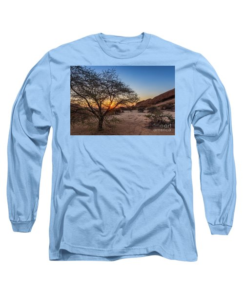 Sunset In Spitzkoppe, Namibia Long Sleeve T-Shirt
