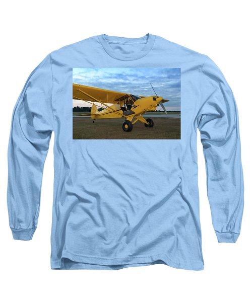 Super Cub At Daybreak Long Sleeve T-Shirt