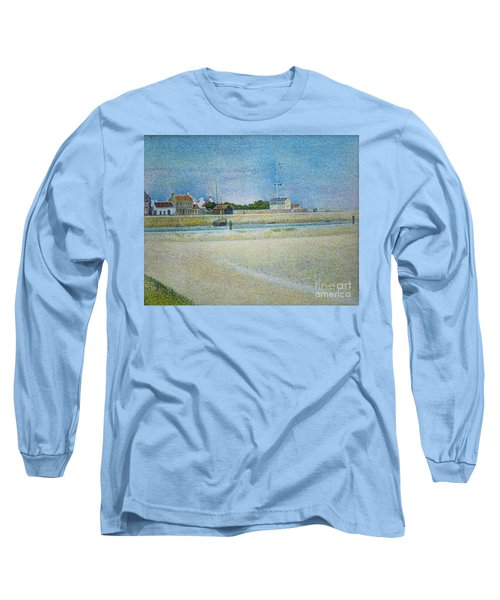 The Channel Of Gravelines Grand Fort Philippe Long Sleeve T-Shirt