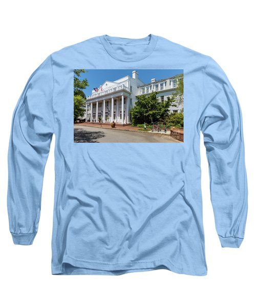 The Willcox Hotel - Aiken Sc Long Sleeve T-Shirt