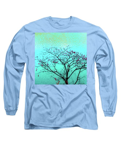 Tree And Water 1 Long Sleeve T-Shirt