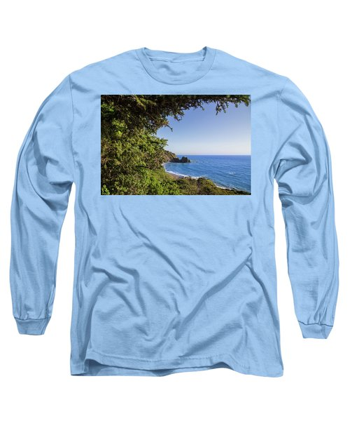 Trees And Ocean Long Sleeve T-Shirt