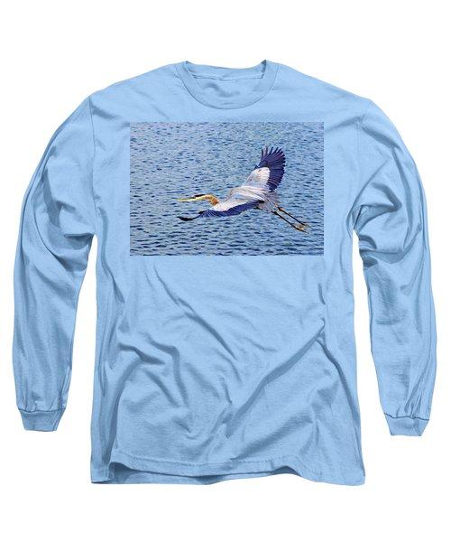 True Blue #3 Long Sleeve T-Shirt
