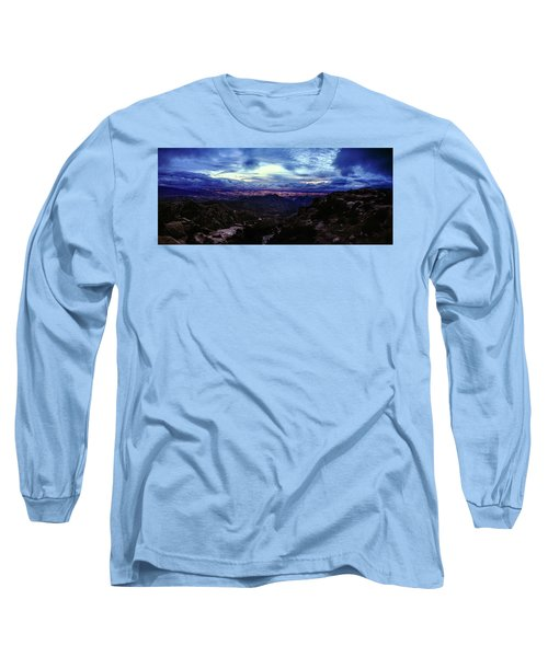 Tucson Twilight Panorama Long Sleeve T-Shirt