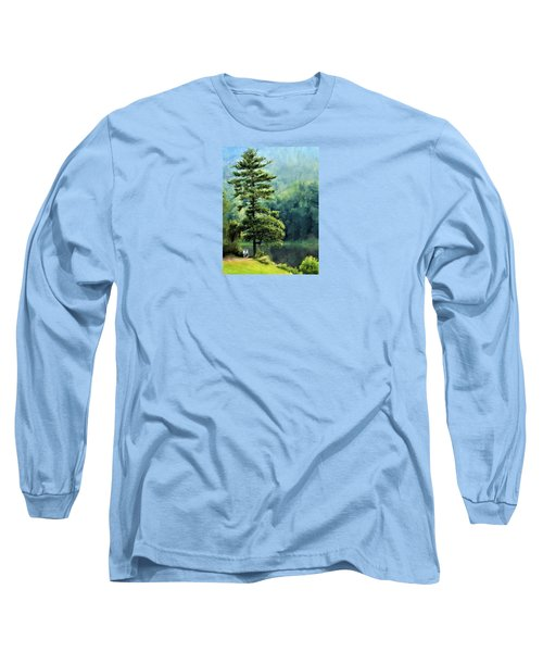 Two Guys And A Pond Long Sleeve T-Shirt