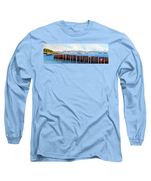 View From The Moshier's Tiki Bar Long Sleeve T-Shirt