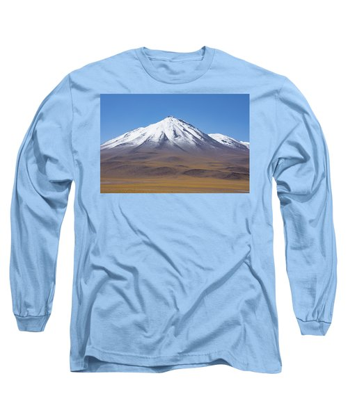 Volcano On The Altiplano Long Sleeve T-Shirt