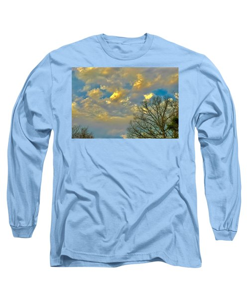Warm And Cool Sky Long Sleeve T-Shirt