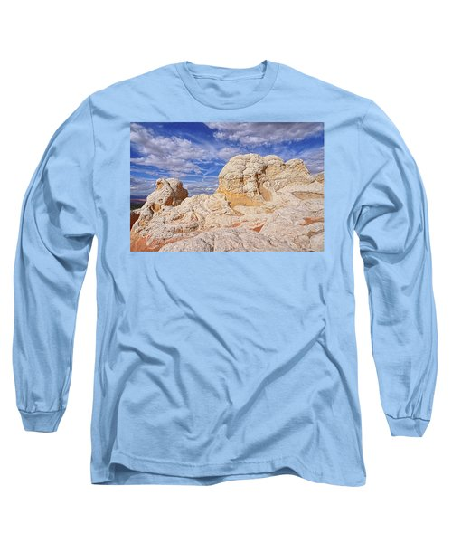 Long Sleeve T-Shirt featuring the photograph White Pocket Scenic by Theo O'Connor