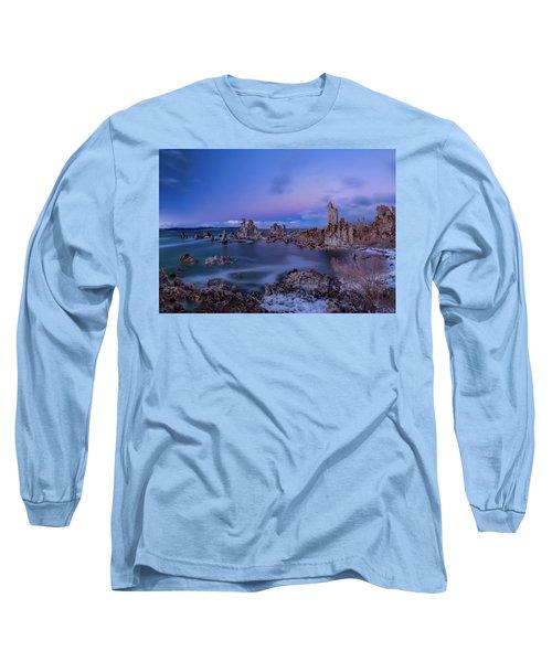 Winter's Eve At Mono Lake Long Sleeve T-Shirt