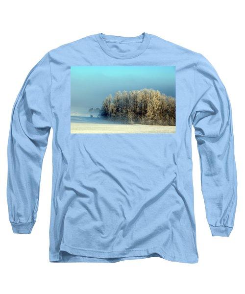 Winter's Heavy Frost Long Sleeve T-Shirt