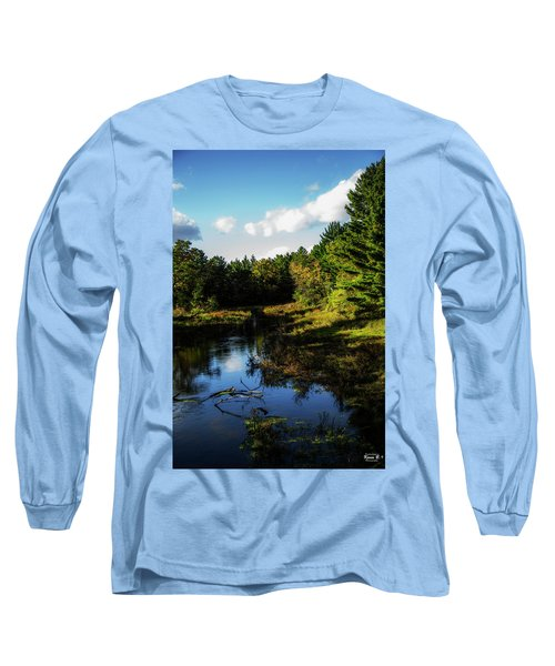 Wisconsin Waterscape Long Sleeve T-Shirt