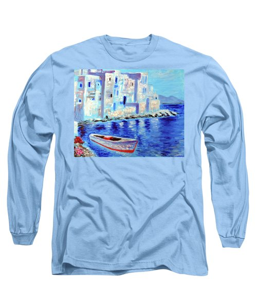 Wondrous Mykonos  Long Sleeve T-Shirt