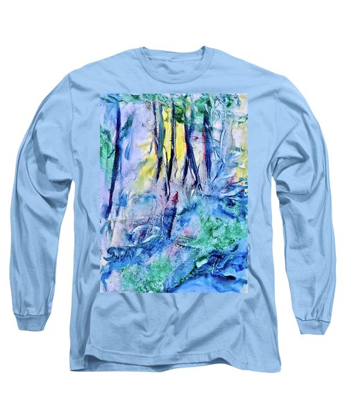 Wooded Stream Long Sleeve T-Shirt