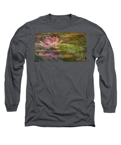 A Splash Of Lily Long Sleeve T-Shirt by PainterArtist FIN