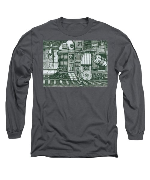 A Traveling Cabinets Of Curiosities Long Sleeve T-Shirt