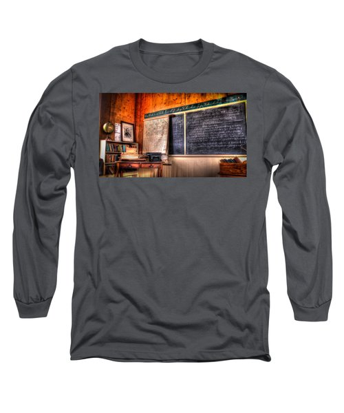 Long Sleeve T-Shirt featuring the photograph  After School by Ray Congrove