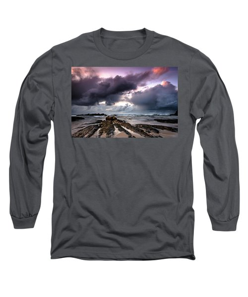 Around The World On A Boat Rock Long Sleeve T-Shirt