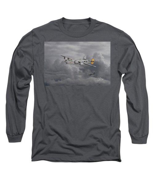 B24 Liberator  446th Bomb Group Long Sleeve T-Shirt