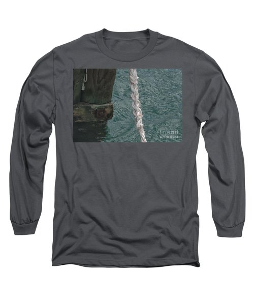 Dock Rope And Wood Long Sleeve T-Shirt