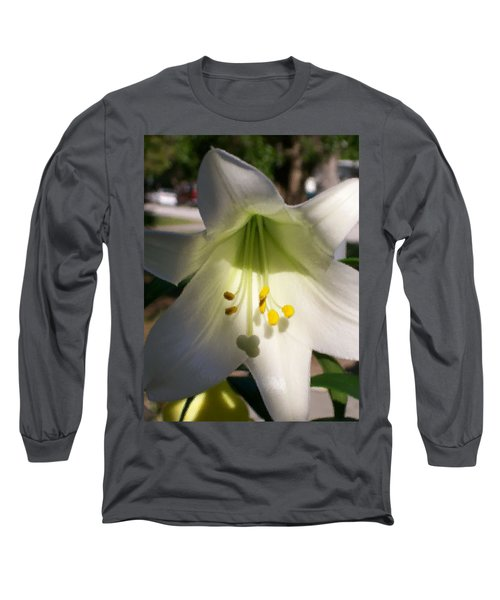 Long Sleeve T-Shirt featuring the photograph  Easter Peace by Belinda Lee