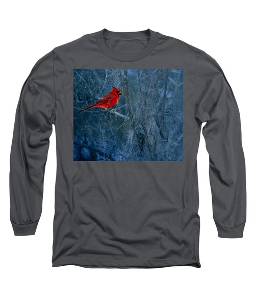 Northern Cardinal Long Sleeve T-Shirt