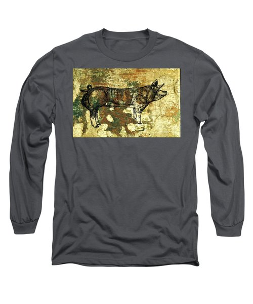 German Pietrain Boar 27 Long Sleeve T-Shirt