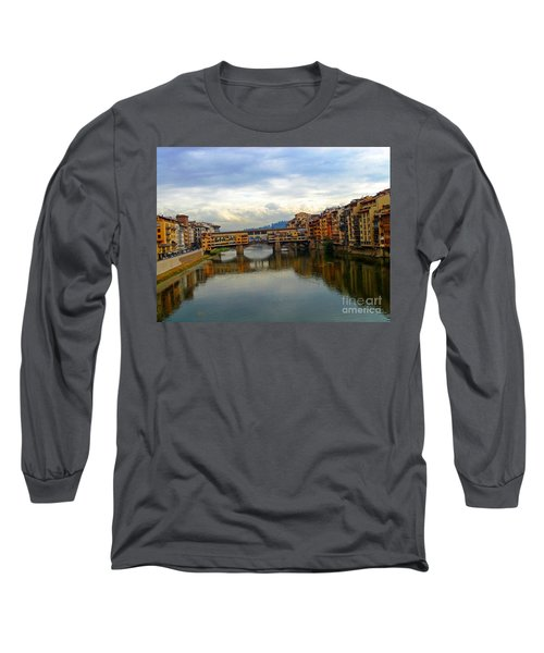 Ponte Vecchio's Padlocks Long Sleeve T-Shirt