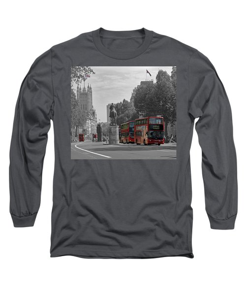 Routemaster London Buses Long Sleeve T-Shirt