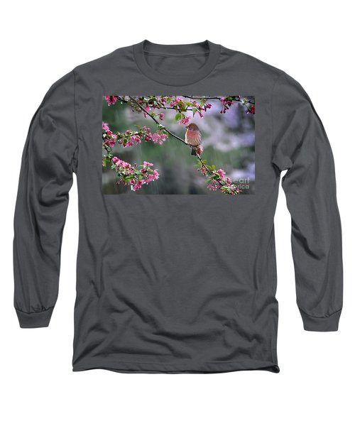 Singing In The Rain  2   Long Sleeve T-Shirt by Nava Thompson