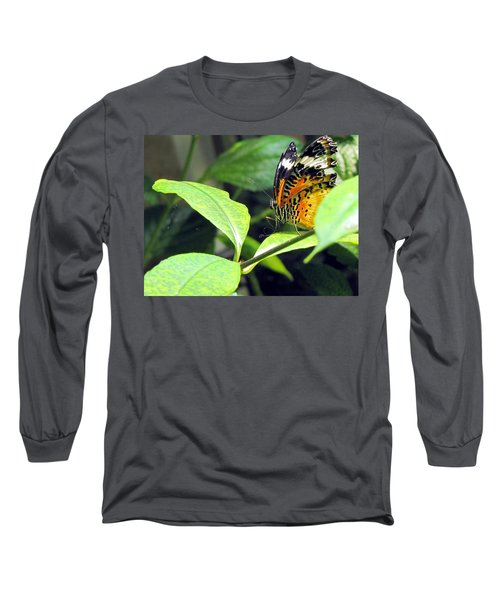 Tiger Wings Long Sleeve T-Shirt by Jennifer Wheatley Wolf