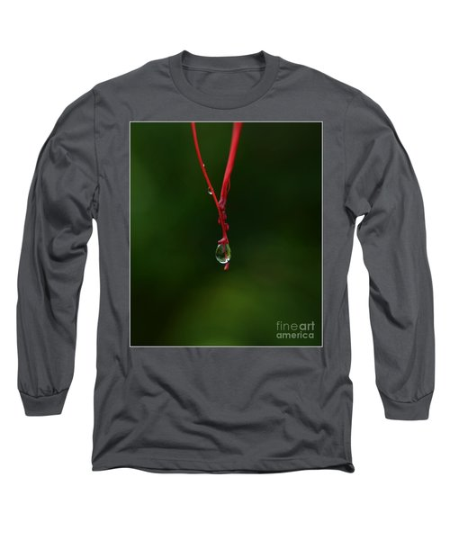 Waterdrop Long Sleeve T-Shirt by Michelle Meenawong