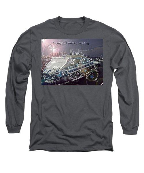 Yacht Art Long Sleeve T-Shirt