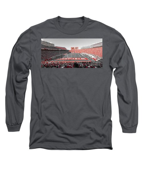 0095 Badger Football  Long Sleeve T-Shirt
