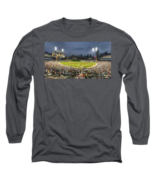 0101 Comerica Park - Detroit Michigan Long Sleeve T-Shirt