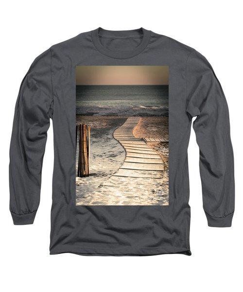 0160 Evanston Boardwalk Long Sleeve T-Shirt