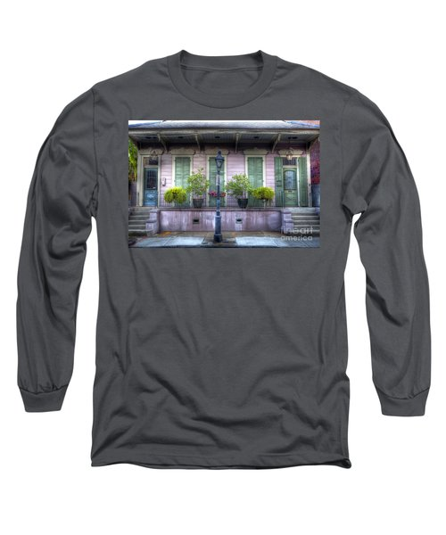 0267 French Quarter 5 - New Orleans Long Sleeve T-Shirt