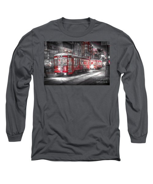0271 Canal Street Trolley - New Orleans Long Sleeve T-Shirt