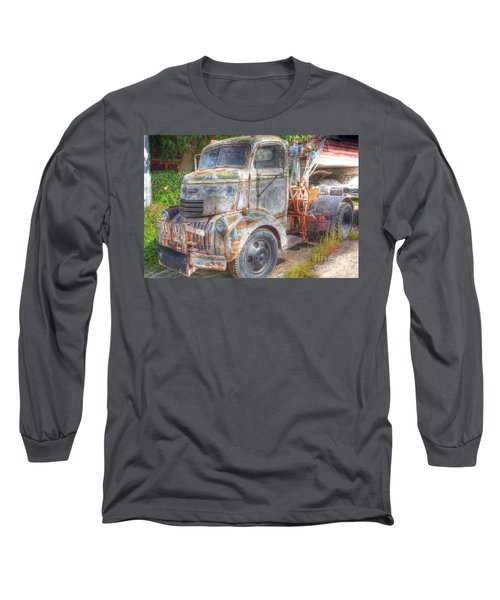 0281 Old Tow Truck Long Sleeve T-Shirt