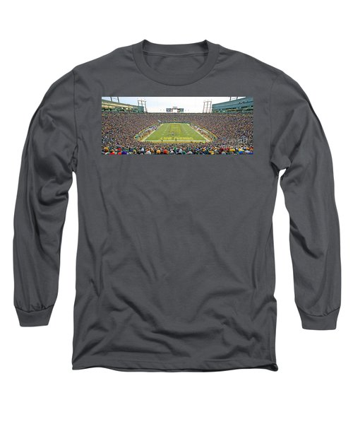 0349 Lambeau Field Panoramic Long Sleeve T-Shirt