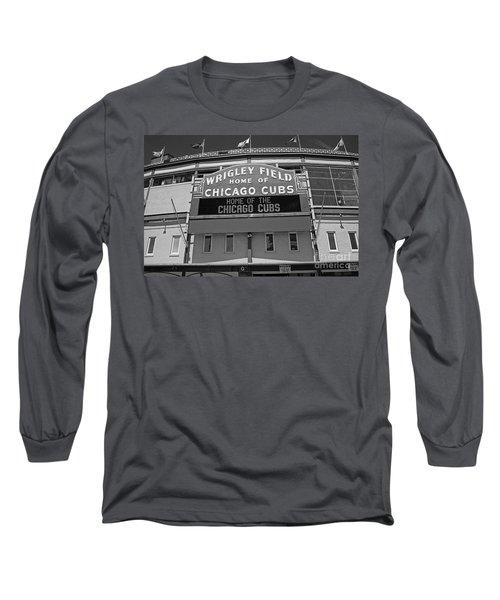 0600 Wrigley Field Long Sleeve T-Shirt