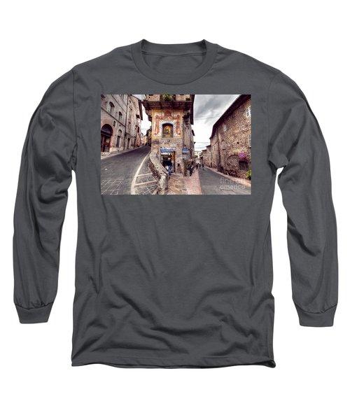 0801 Assisi Italy Long Sleeve T-Shirt