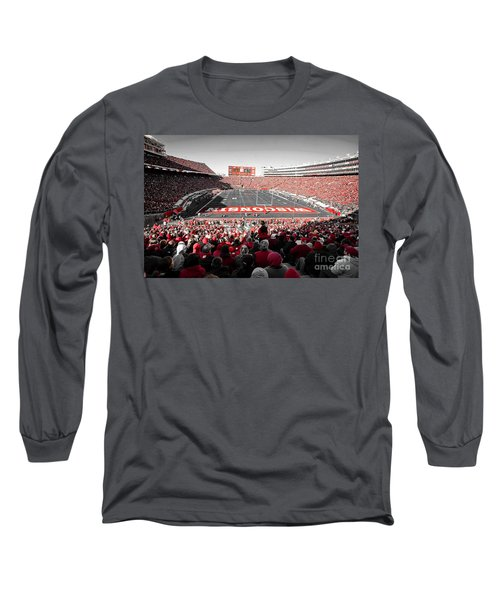 0811 Camp Randall Stadium Long Sleeve T-Shirt