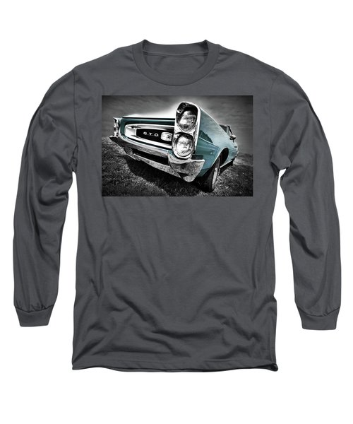 1966 Pontiac Gto Long Sleeve T-Shirt