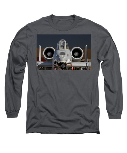 A-10 Warthog Long Sleeve T-Shirt