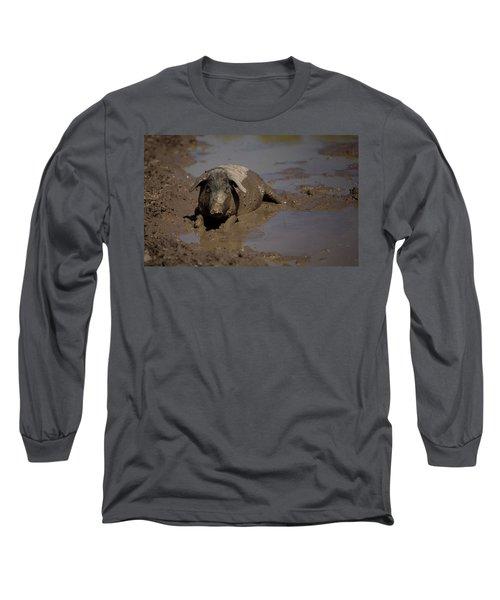 A Spanish Iberian Pig, The Source Long Sleeve T-Shirt