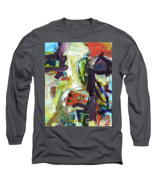 Abstract Cow Long Sleeve T-Shirt
