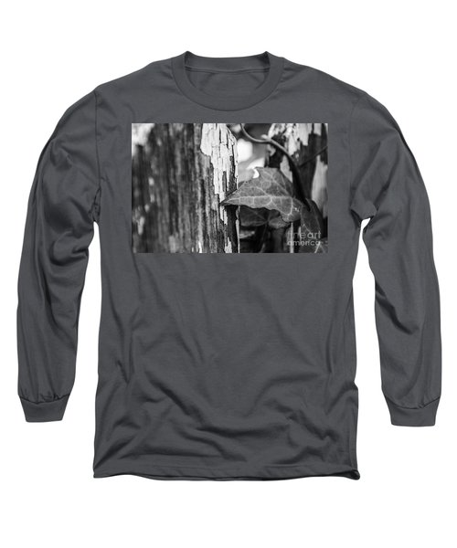 Long Sleeve T-Shirt featuring the photograph Along The Fence by JT Lewis