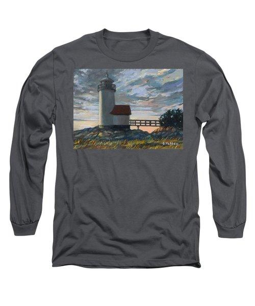 Annisquam Light Long Sleeve T-Shirt by Eileen Patten Oliver